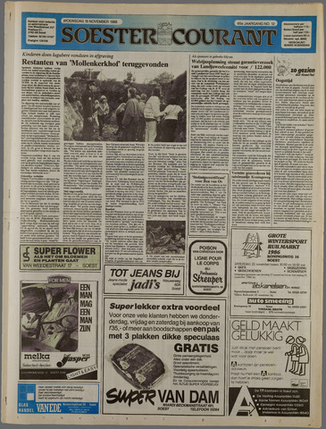 Soester Courant 1986-11-19
