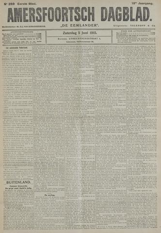 Amersfoortsch Dagblad / De Eemlander 1915-06-05