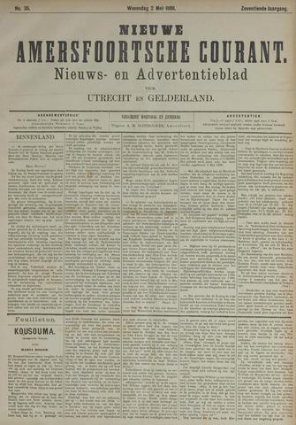 Nieuwe Amersfoortsche Courant 1888-05-02