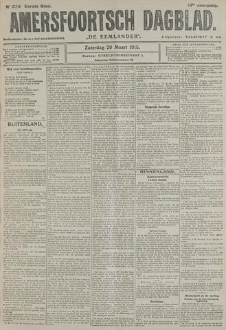Amersfoortsch Dagblad / De Eemlander 1915-03-20