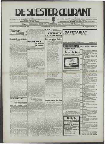 Soester Courant 1940-08-30