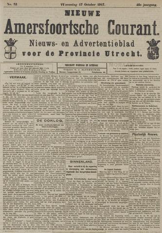 Nieuwe Amersfoortsche Courant 1917-10-17