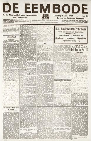 De Eembode 1924-01-08