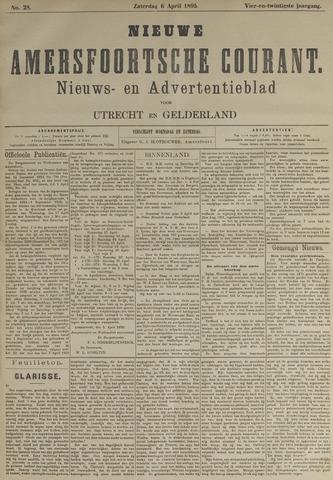 Nieuwe Amersfoortsche Courant 1895-04-06