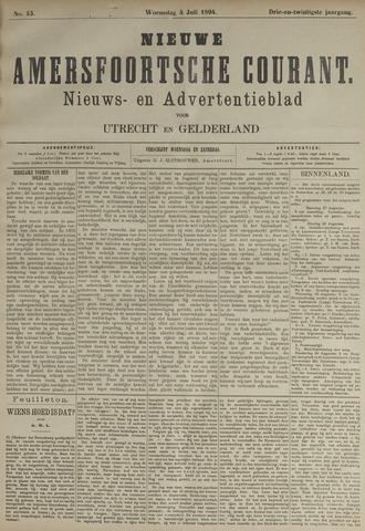 Nieuwe Amersfoortsche Courant 1894-07-04