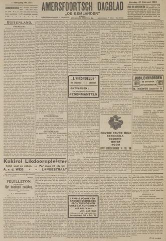 Amersfoortsch Dagblad / De Eemlander 1923-02-27
