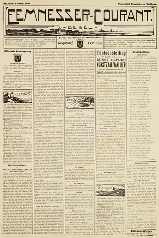 Eemnesser Courant 1924-04-04