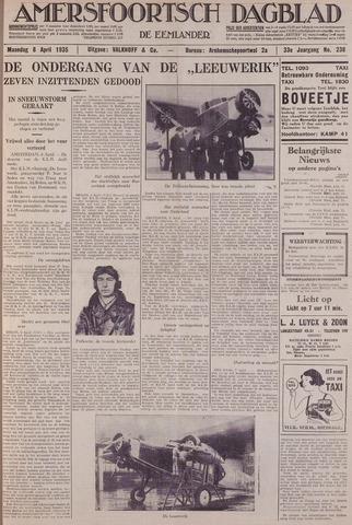 Amersfoortsch Dagblad / De Eemlander 1935-04-08
