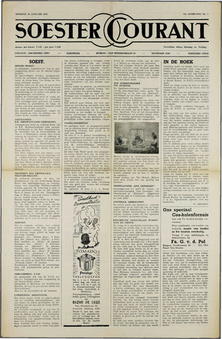 Soester Courant 1954-01-26