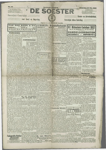 Soester Courant 1925-10-24