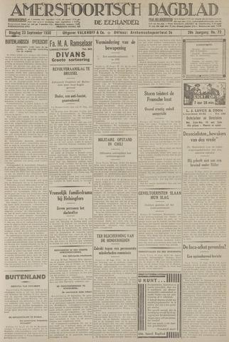 Amersfoortsch Dagblad / De Eemlander 1930-09-23