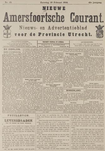 Nieuwe Amersfoortsche Courant 1916-02-19