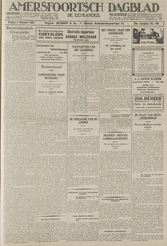 Amersfoortsch Dagblad / De Eemlander 1931-02-06