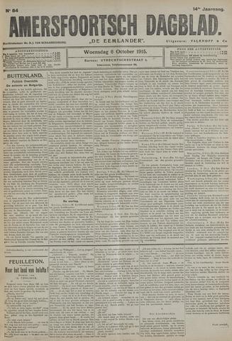 Amersfoortsch Dagblad / De Eemlander 1915-10-06