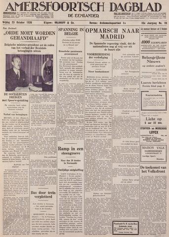 Amersfoortsch Dagblad / De Eemlander 1936-10-23