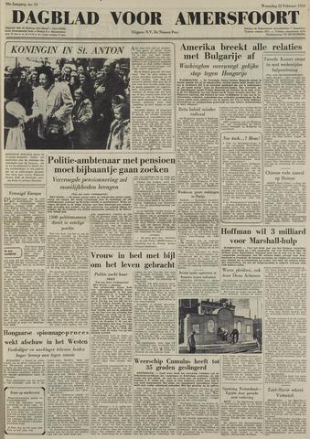 Dagblad voor Amersfoort 1950-02-21