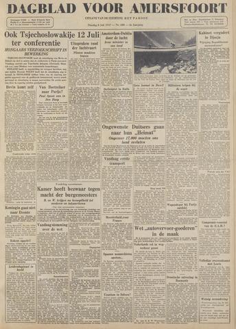 Dagblad voor Amersfoort 1947-07-08
