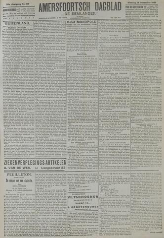 Amersfoortsch Dagblad / De Eemlander 1921-11-15
