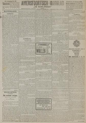 Amersfoortsch Dagblad / De Eemlander 1923-02-22