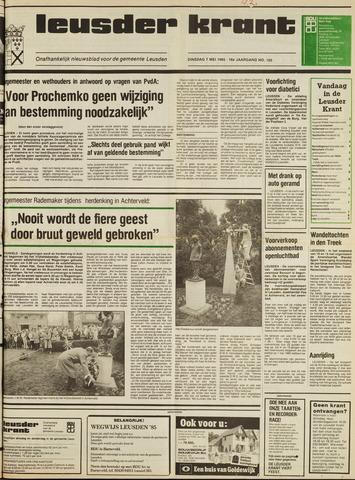 Leusder Krant 1985-05-07