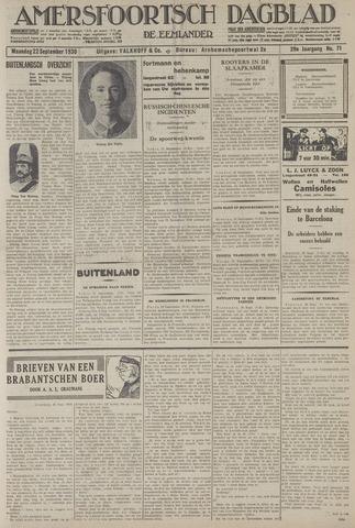 Amersfoortsch Dagblad / De Eemlander 1930-09-22