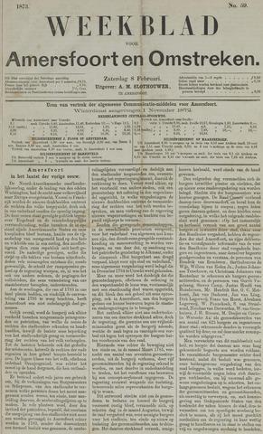 Weekblad voor Amersfoort en Omstreken 1873-02-08