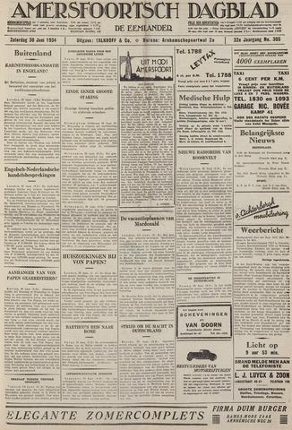 Amersfoortsch Dagblad / De Eemlander 1934-06-30