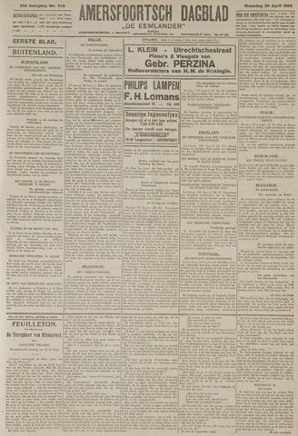 Amersfoortsch Dagblad / De Eemlander 1925-04-20