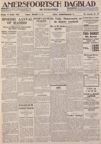 Amersfoortsch Dagblad / De Eemlander 1936-10-13