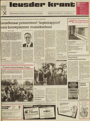 Leusder Krant 1987-11-05