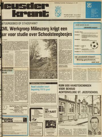 Leusder Krant 1977-11-03