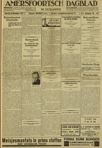 Amersfoortsch Dagblad / De Eemlander 1932-11-26