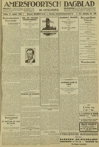 Amersfoortsch Dagblad / De Eemlander 1933-01-27