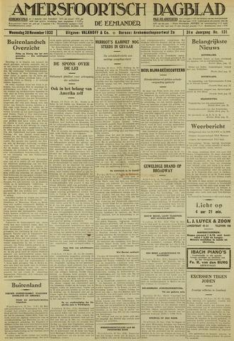 Amersfoortsch Dagblad / De Eemlander 1932-11-30