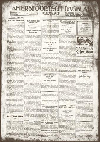 Amersfoortsch Dagblad / De Eemlander 1930-04-01