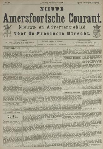 Nieuwe Amersfoortsche Courant 1896-10-24