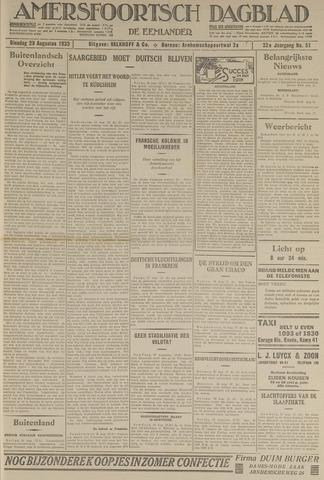 Amersfoortsch Dagblad / De Eemlander 1933-08-29