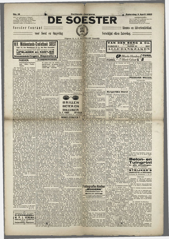 Soester Courant 1925-04-11