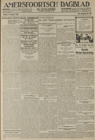 Amersfoortsch Dagblad / De Eemlander 1930-01-10