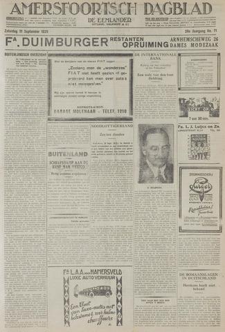 Amersfoortsch Dagblad / De Eemlander 1929-09-21