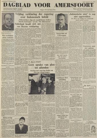 Dagblad voor Amersfoort 1949-02-17
