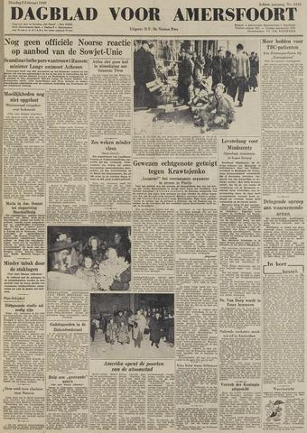 Dagblad voor Amersfoort 1949-02-08