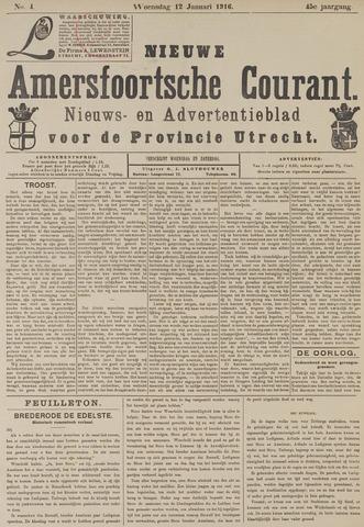 Nieuwe Amersfoortsche Courant 1916-01-12