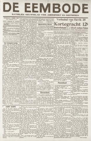 De Eembode 1921-02-01