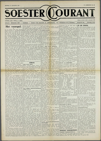 Soester Courant 1959-08-25