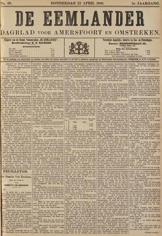 De Eemlander 1908-04-23