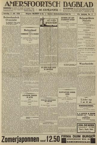 Amersfoortsch Dagblad / De Eemlander 1932-07-02