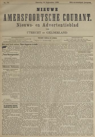 Nieuwe Amersfoortsche Courant 1894-09-15