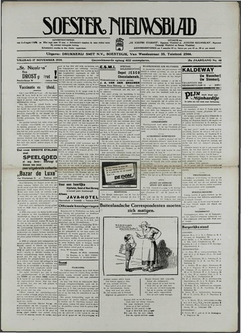 Soester Courant 1936-11-17