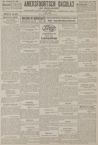 Amersfoortsch Dagblad / De Eemlander 1926-04-22